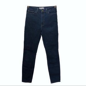 American Apparel High Waist Denim Jeans